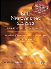 BNI Networking Secrets CD