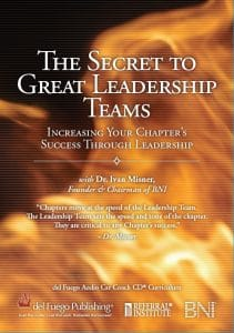 The Secret to Great Leadership Teams CD Set Cover