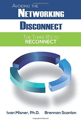 book cover: Avoiding the Networking Disconnect