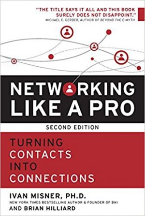 book cover: Networking like a Pro, second edition